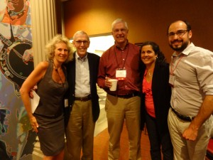 Dr Joffe Ellis with Dr Jon Carlson, Dr Jim Bitter, Patti Sperry and Dr Jon Sperry.