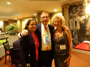 Dr Joffe Ellis with Dr Len Sperry and Patti Sperry.