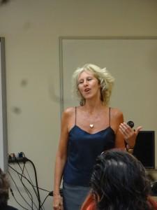 Dr Joffe Ellis teaching REBT at Alliant University, San Francisco