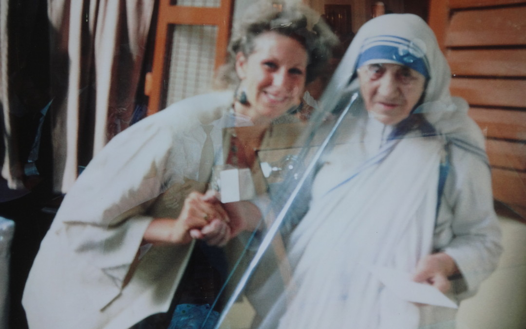 Dr Joffe Ellis and Mother Teresa of Calcutta