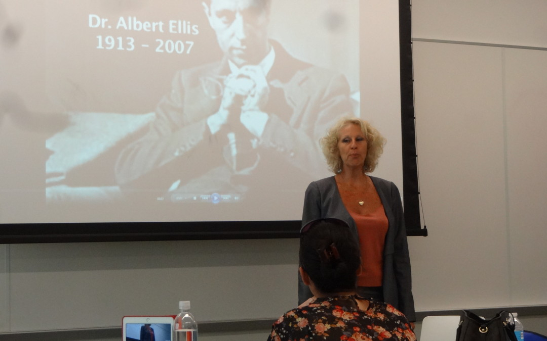 Dr Joffe Ellis Presents REBT at Lynn University in Boca Raton, Florida