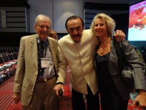 With Dr Philip Zimbardo and Stanley Krippner.