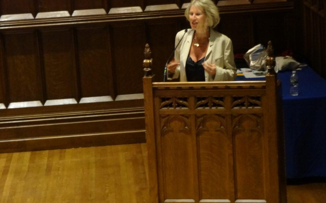 Dr Joffe Ellis Presents At Columbia University NYC.  Not Making Oneself Enraged…